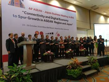 Attending the 44th ASEAN-Japan Business Meeting (AJBM)