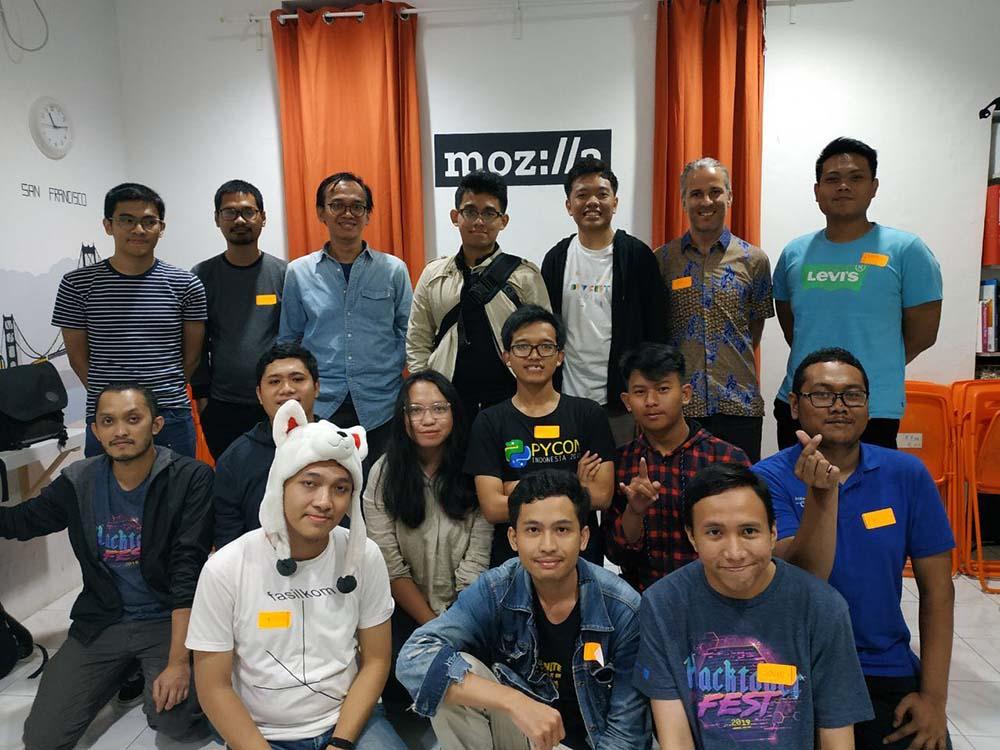 Jakarta Pandas Documentation Sprint Photo Group