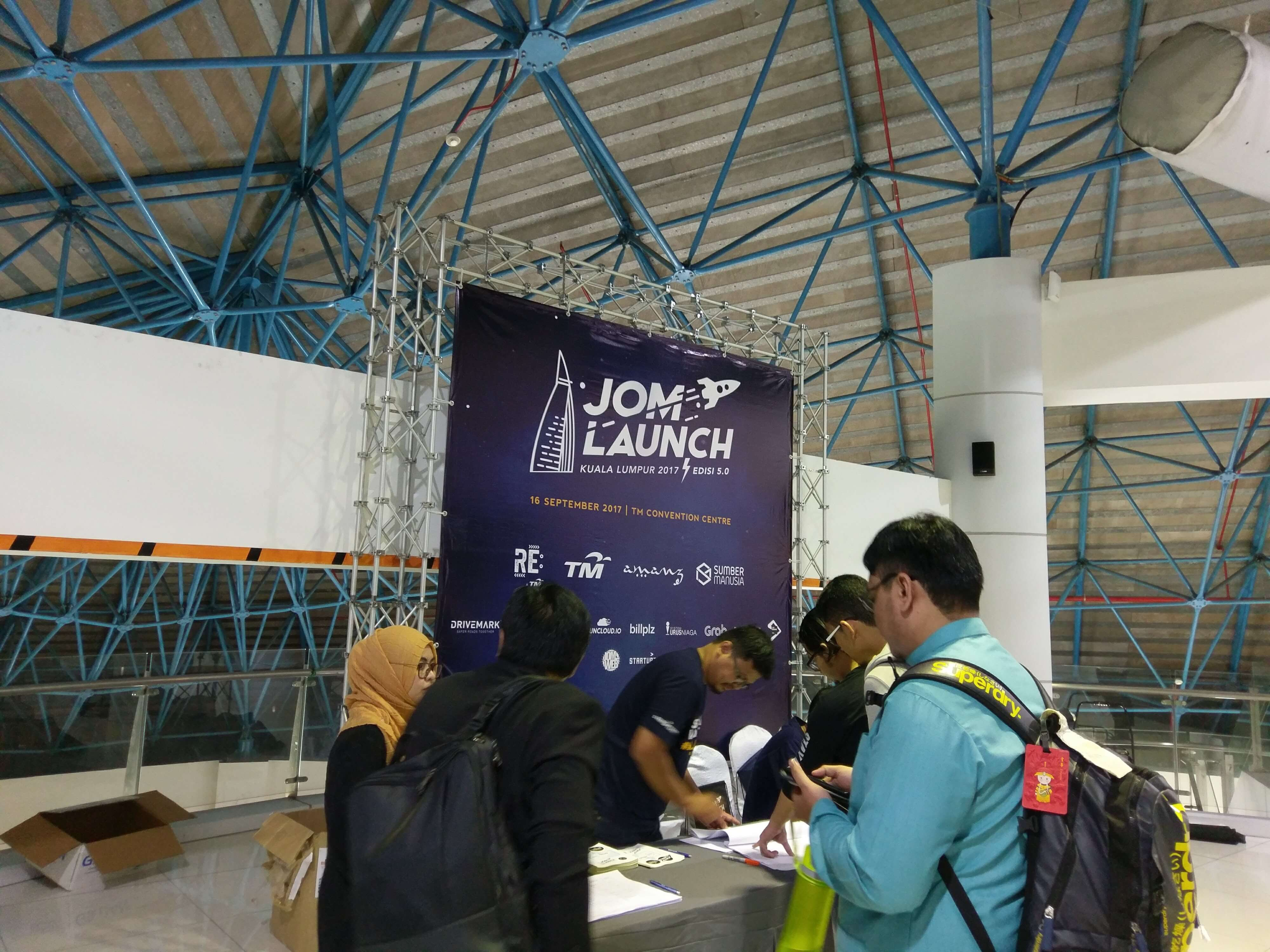 JomLaunch 5 registration