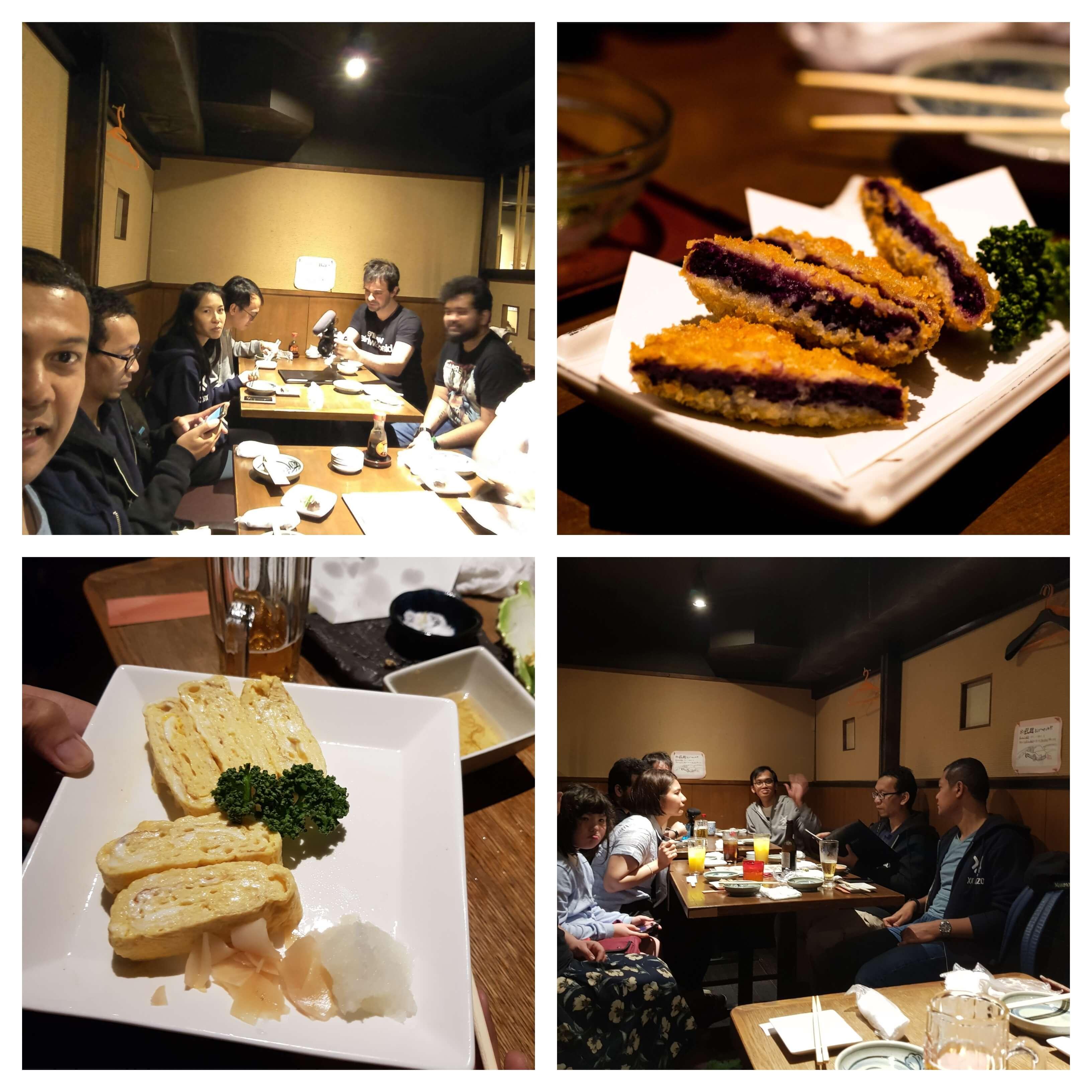 Xoxzo team dinner