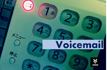 [Xoxzo] Voicemail feature release!