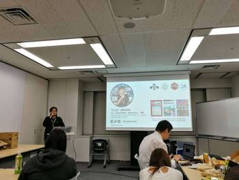 Participating in DevRel/English #8 meetup