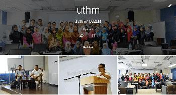 Talk at UTHM