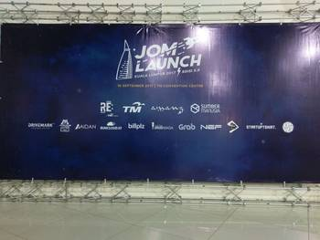 Xoxzo's Iqbal at JomLaunch 5.0