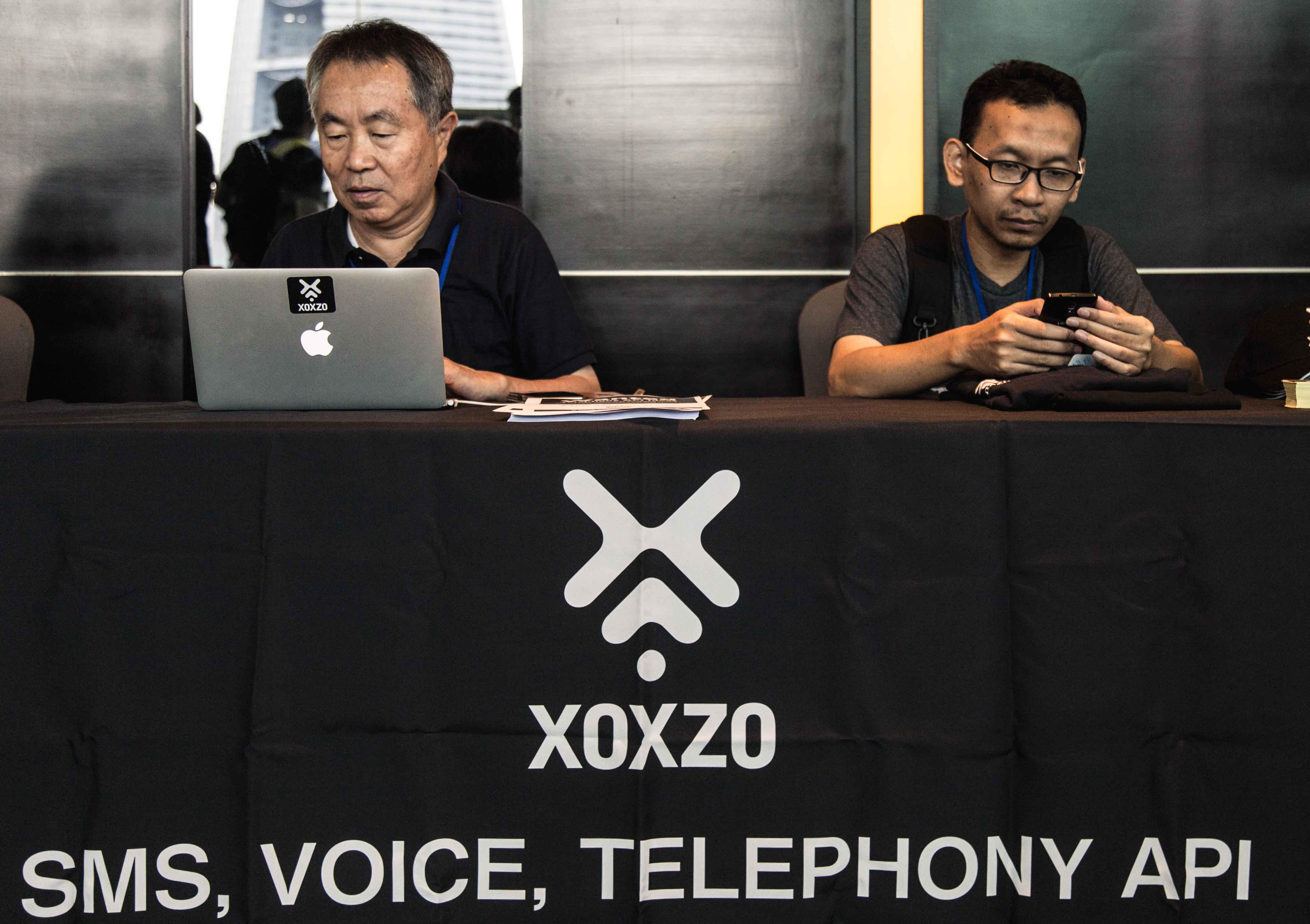 PyCon APAC 2017 XOXZO Booth