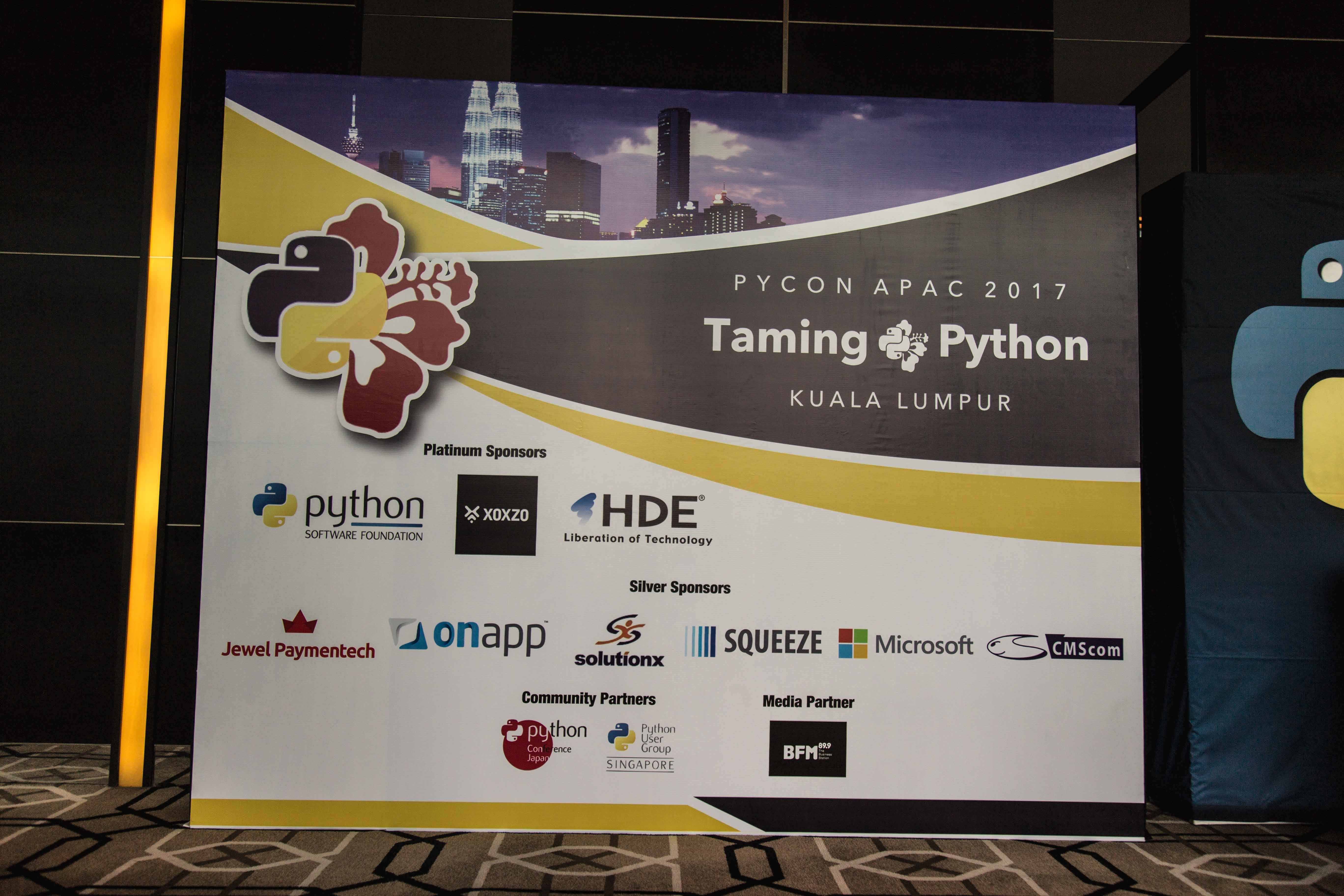 PyCon APAC 2017 XOXZO Main Theme