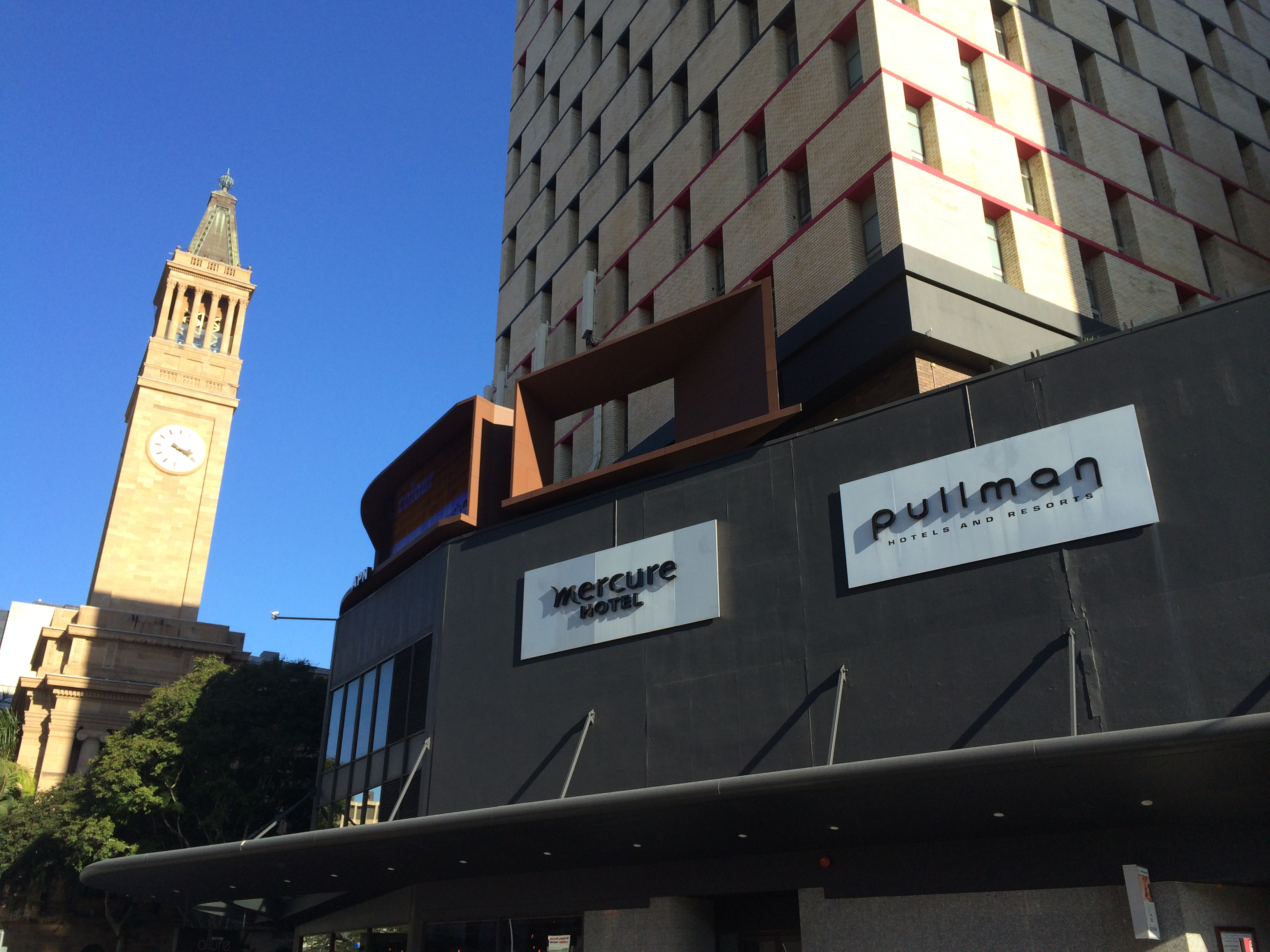 Pullman Brisbane - King George Square, the PyCon AU 2015 venue.