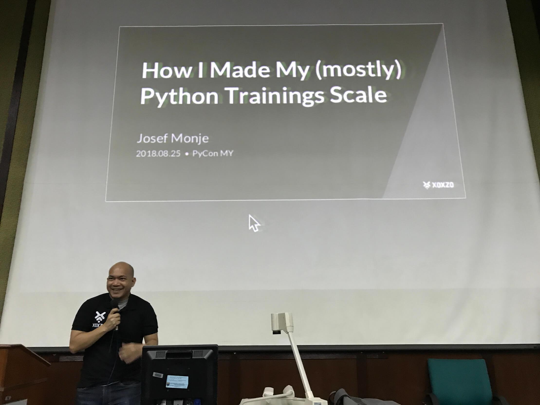 Josef talk