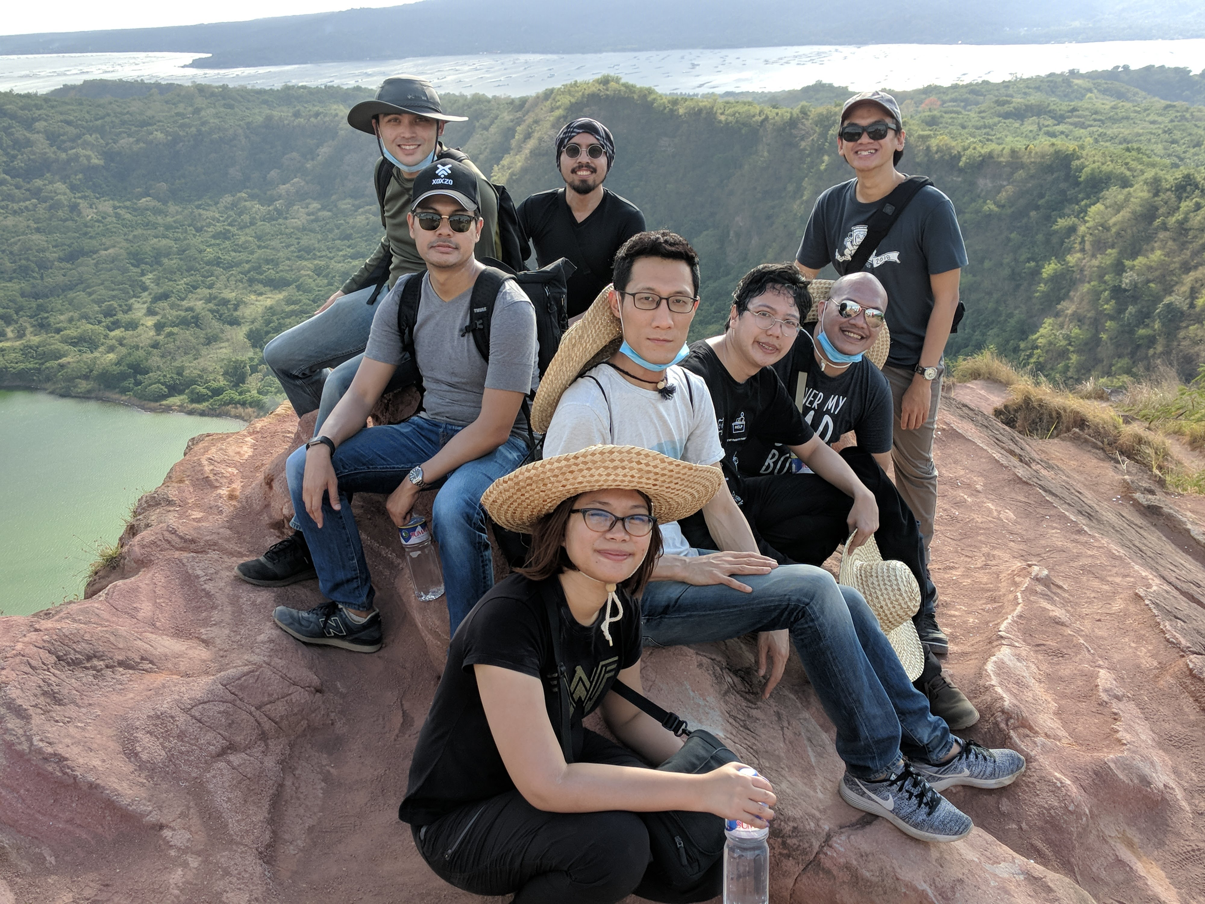 PyCon PH in Taal Crater Lake