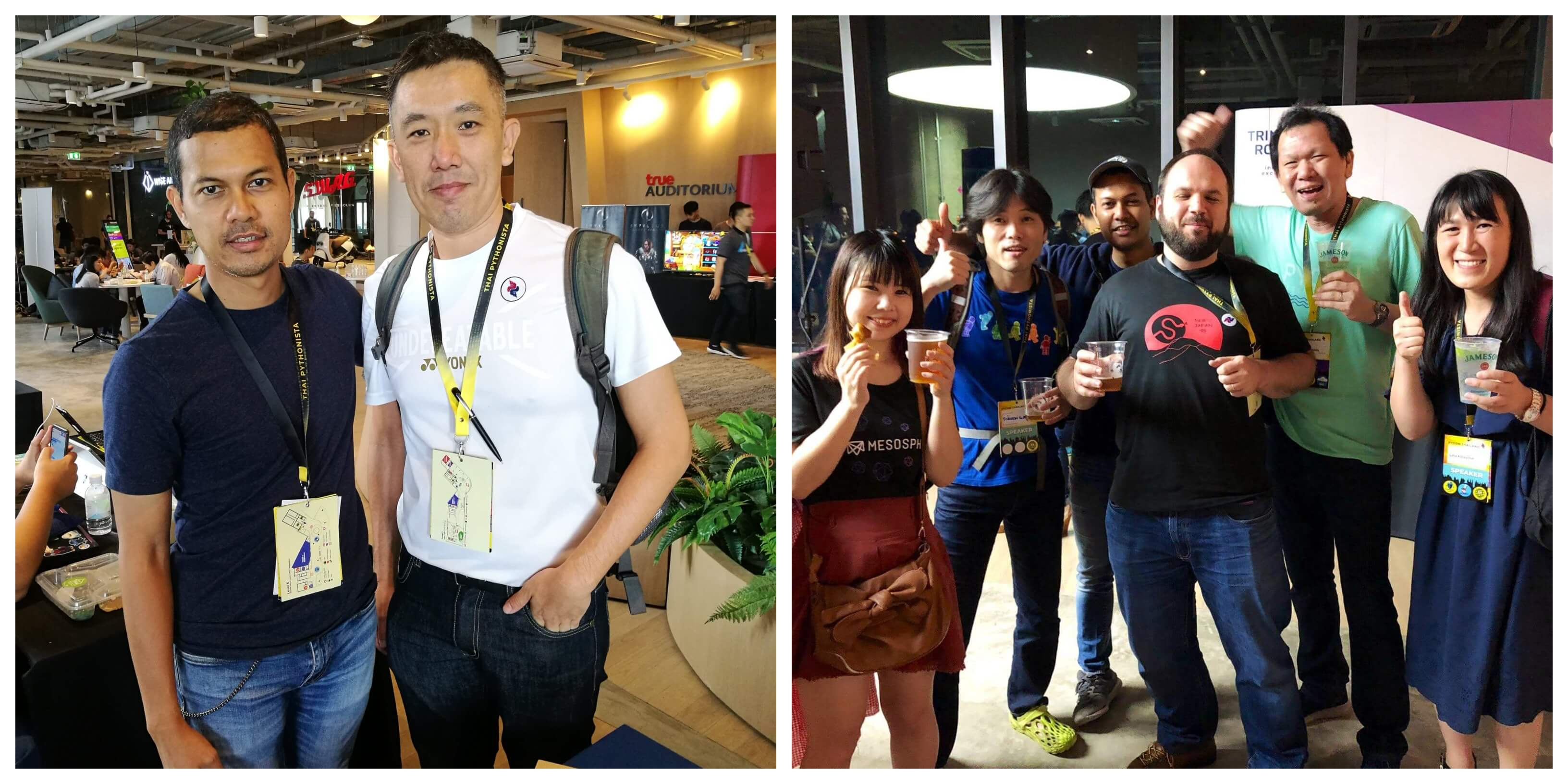 People I met at PyCon TH 2019