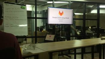 Workshop CI/CD on gitlab by SARCCOM Indonesia