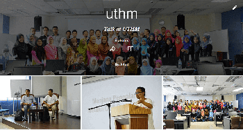 Talk at UTHM
