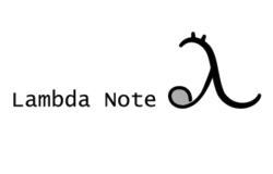 n-Lambda note (monthly subscription in Japan)