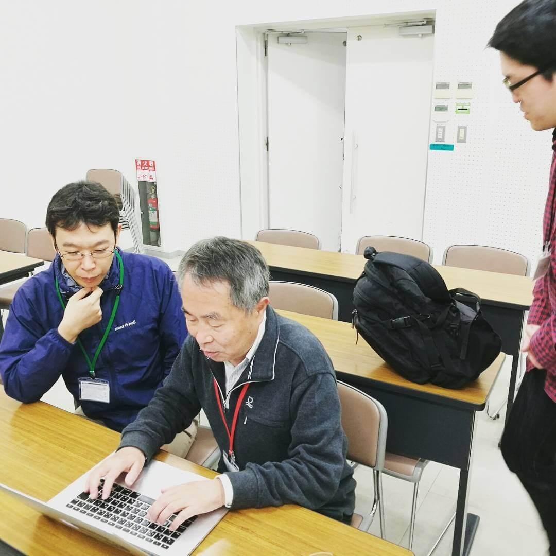 mini PyCon 熊本の参加者と