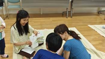 絵本読み聞かせの会でのコミュニティー活動